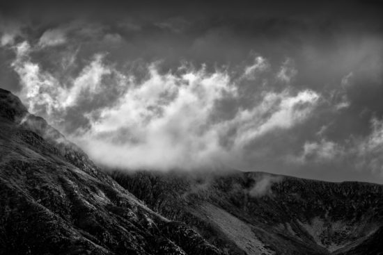 Clouds over Ben Nevis