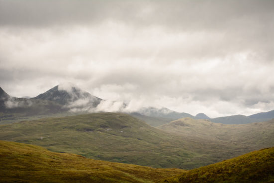 They say every good landscape image needs a foreground element. To me, the highlands don't need such a thing as despite all of their barrenness they are impressive enough on their own.