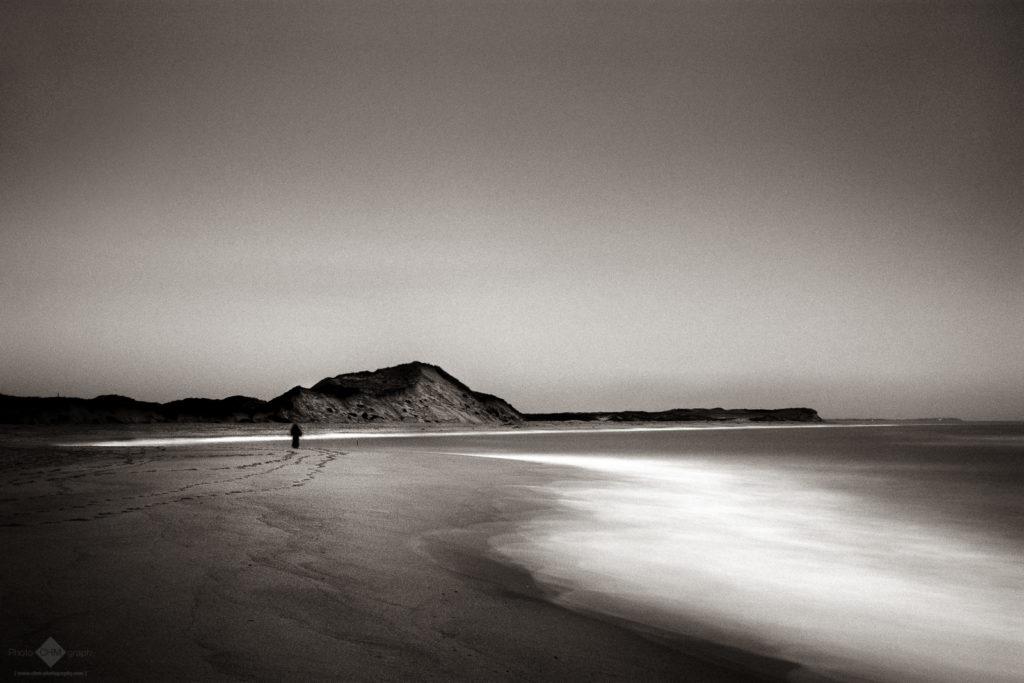 Walker on the Beach #2