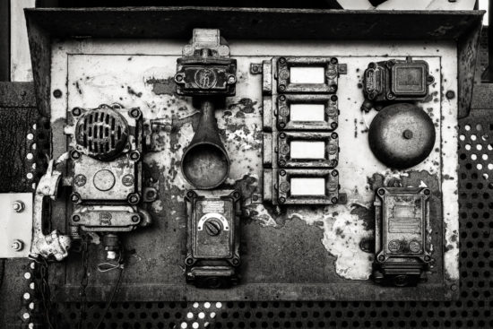 Old Communications Panel