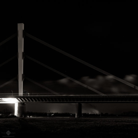 Highway Bridge at Night