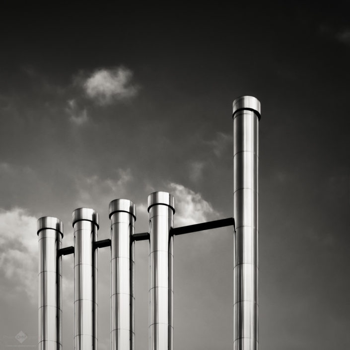 Five Chimney Pipes