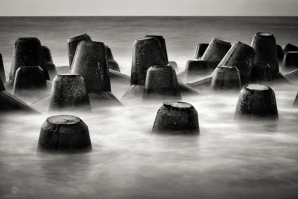 Submerged Tetrapods